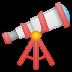 Telescope google emoji