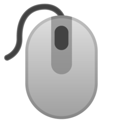 Three Button Mouse google emoji