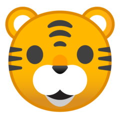 Tiger Face google emoji