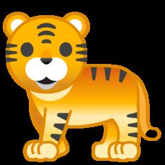 Tiger google emoji