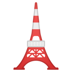 Tokyo Tower google emoji