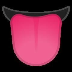Tongue google emoji