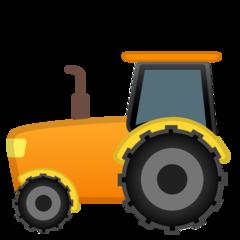 Tractor google emoji