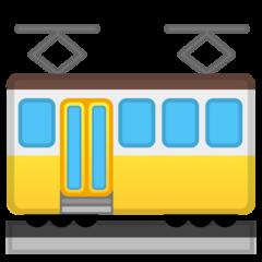Tram Car google emoji