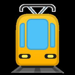 Tram google emoji