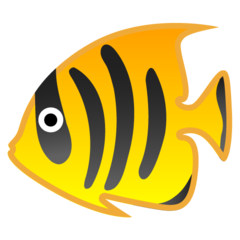 Tropical Fish google emoji