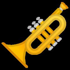 Trumpet google emoji
