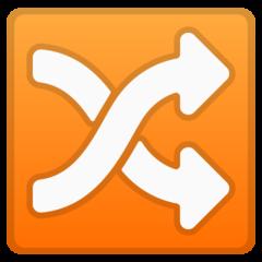 Twisted Rightwards Arrows google emoji