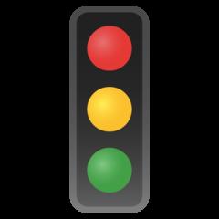 Vertical Traffic Light google emoji