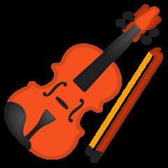 Violin google emoji