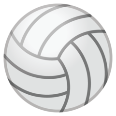 Volleyball google emoji