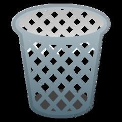 Wastebasket google emoji