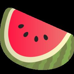 Watermelon google emoji