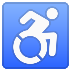 Wheelchair Symbol google emoji