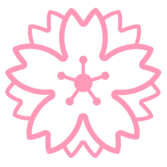 White Flower google emoji