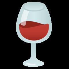 Wine Glass google emoji