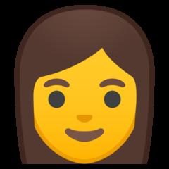 Woman google emoji