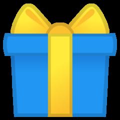 Wrapped Present google emoji