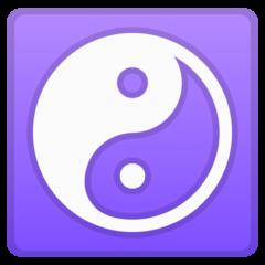 Yin Yang google emoji