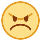 Angry Face htc emoji