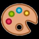 Artist Palette htc emoji