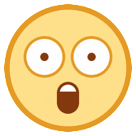 Astonished Face htc emoji