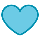 Blue Heart htc emoji
