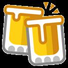Clinking Beer Mugs htc emoji