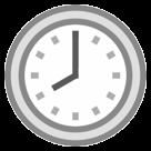 Clock Face Eight Oclock htc emoji