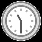 Clock Face Eleven-thirty htc emoji