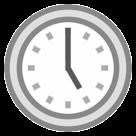Clock Face Five Oclock htc emoji