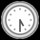 Clock Face Five-thirty htc emoji