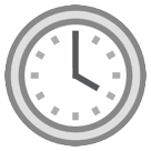 Clock Face Four Oclock htc emoji