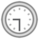 Clock Face Nine-thirty htc emoji