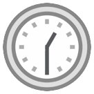 Clock Face One-thirty htc emoji