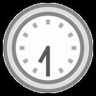 Clock Face Seven-thirty htc emoji
