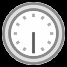 Clock Face Six-thirty htc emoji
