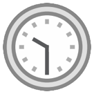 Clock Face Ten-thirty htc emoji