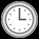 Clock Face Three Oclock htc emoji