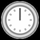 Clock Face Twelve Oclock htc emoji