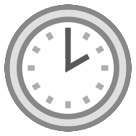 Clock Face Two Oclock htc emoji