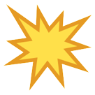 Collision Symbol htc emoji