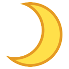 Crescent Moon htc emoji
