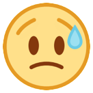 Disappointed But Relieved Face htc emoji