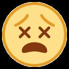 Dizzy Face htc emoji