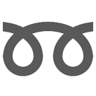 Double Curly Loop htc emoji