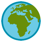 Earth Globe Europe-africa htc emoji