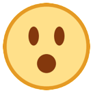 Face With Open Mouth htc emoji