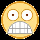 Fearful Face htc emoji