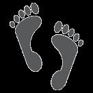 Footprints htc emoji
